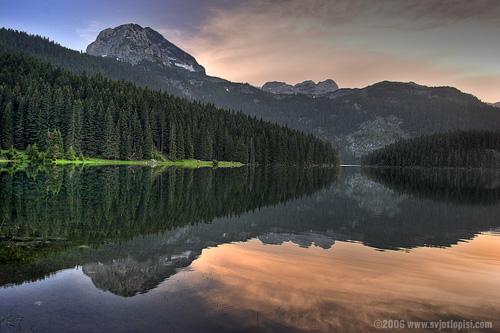Crno jezero, Durmitor by Vladimir Popović