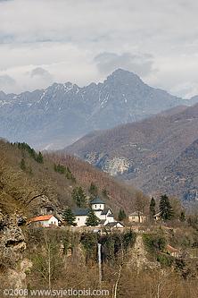 Manastir Morača by Vladimir Popović